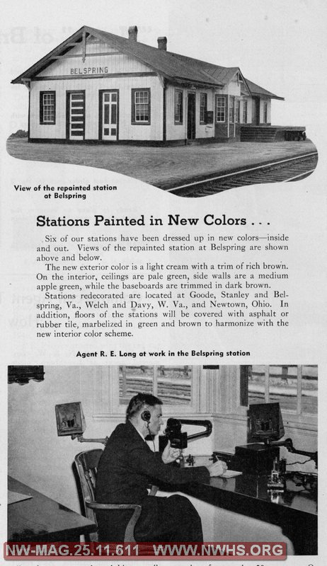 Stations Painted in New Colors?
