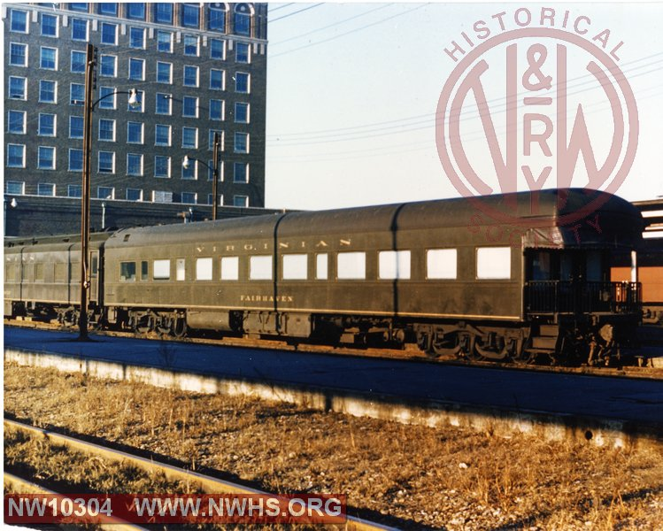 "VGN Business Car ""Fairhaven"" at Norfolk, VA"