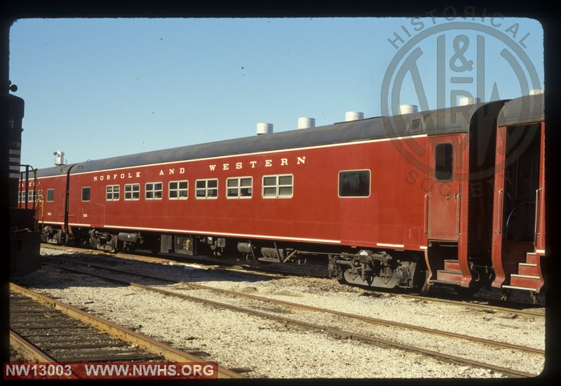 NW P3 #536 MoW Passenger, Coach at Ludlow, KY