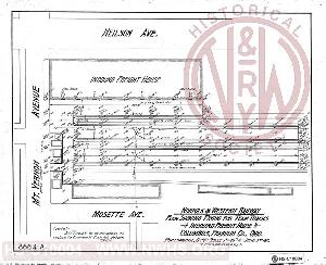 Nwhs archives documents plan showing paving for team tracks inbound freight house columbus franklin co ohio nw ry malvernweather Images